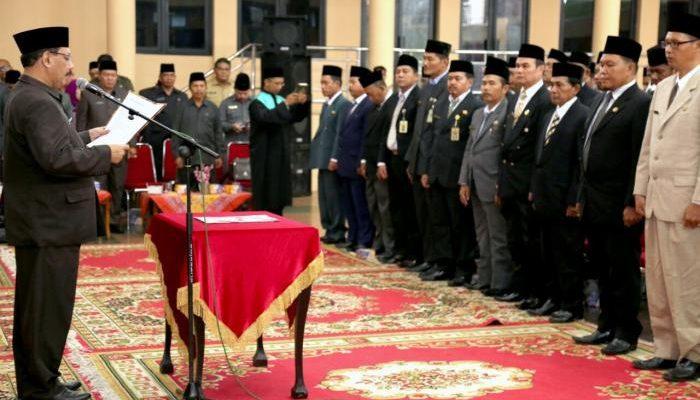 Formasi Baru, 232 Pejabat Inhil Dilantik Lagi