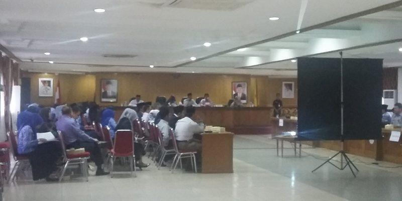 """Rapat Evaluasi Kegiatan Pembangunan 2017, Beberapa Kadis """"Mangkir"""""""