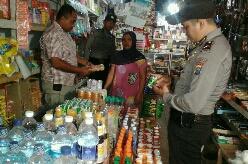 Sidak Makanan Kadaluarsa dan Petasan, Polisi Amankan Beberapa Jenis Makanan