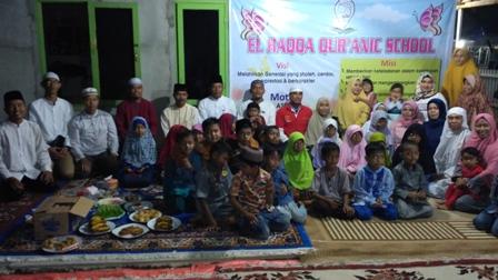 Safari Ramadan, Wakapolresta Pekanbaru Buka Bersama Yayasan Al Haqqa