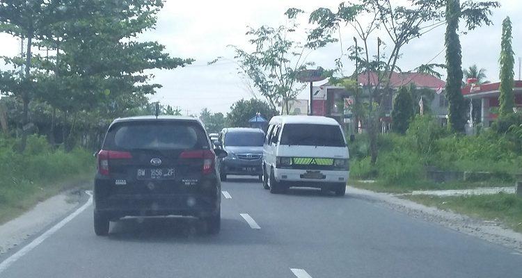 Jalur Barat Riau Mulai Ramai Angkutan Mudik