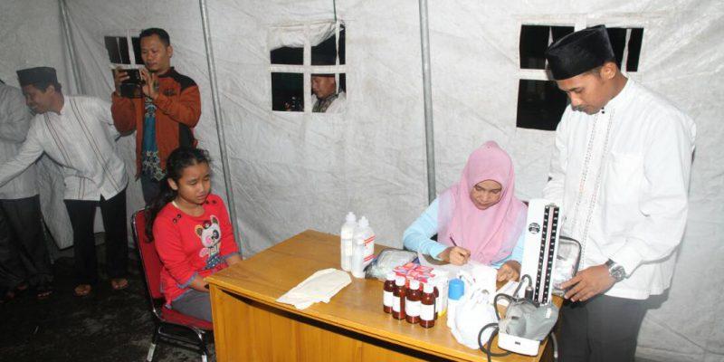 Pasca Banjir, Dinkes Siak Sediakan Posko Kesehatan