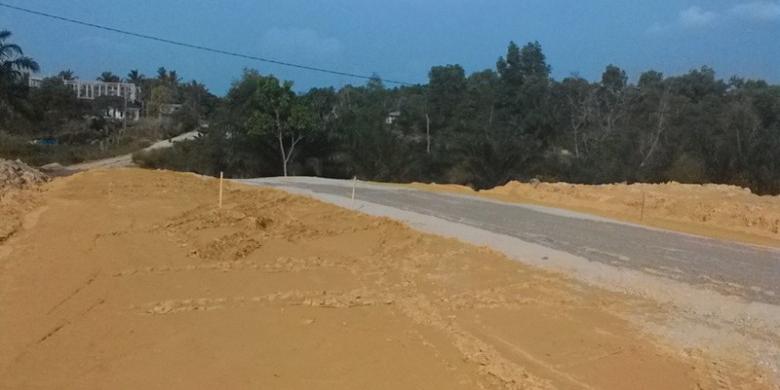 Pembangunan 2,8 KM Jalan Lingkar Barat Duri Belum Kelar Terganjal Oleh PT Chevron
