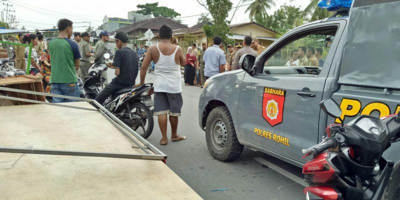 Pengelola Bazar Akui Sudah Dapat Izin, Kadis Satpol PP Rohil Sebut Tidak Ada