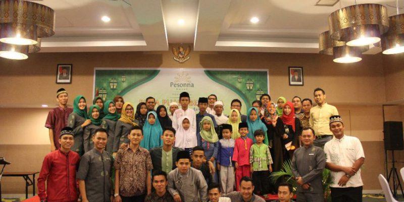 Ramadan ke 19, Pesonna Hotel Adakan Buka Bersama Anak Yatim