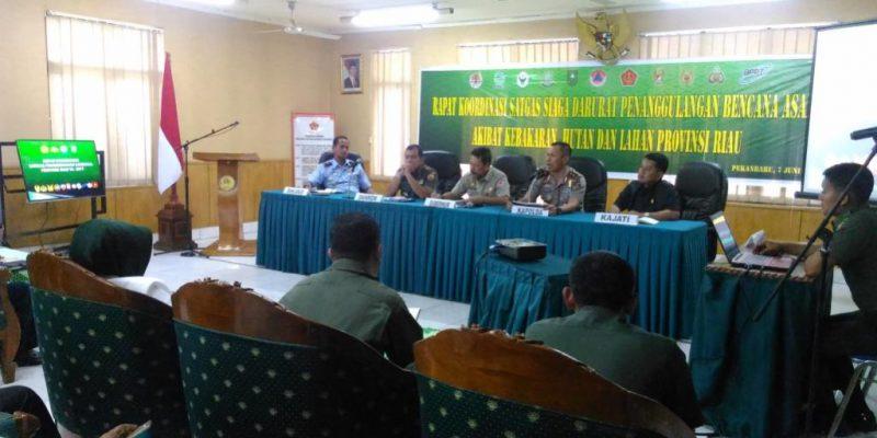Riau Dapat Bantuan 6 Helikopter Untuk Tangani Karhutla