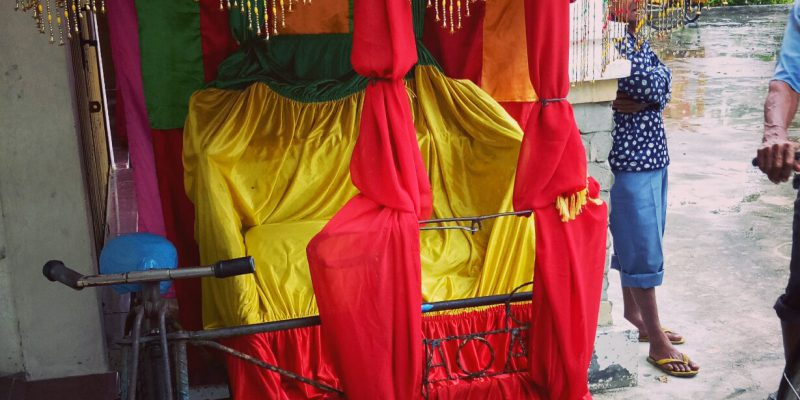 Sambut Tamu Penting Bakar Tongkang, Pemkab Rohil Sediakan 20 Becak Hias