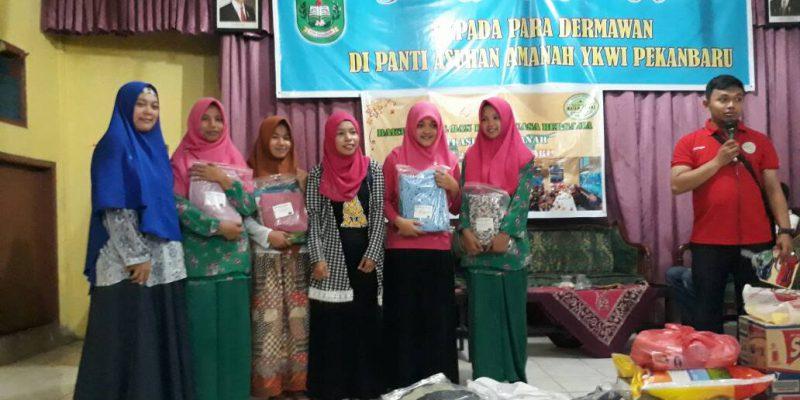 Suasana Haru Warnai Pidato dan Cerita Sonya di Panti Asuhan YKWI