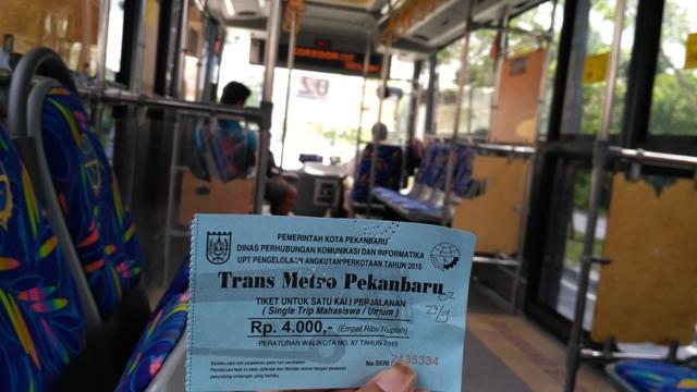 Empat Fakta Bus Trans Metro Pekanbaru