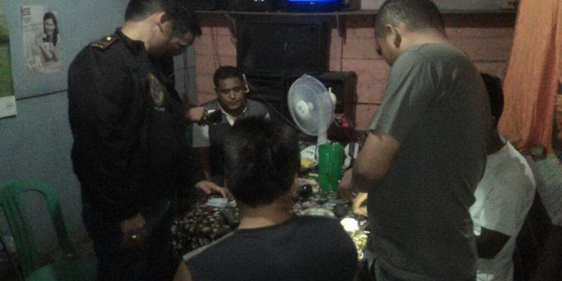 Warung Remang-remang di Razia Polsek XIII Koto Kampar