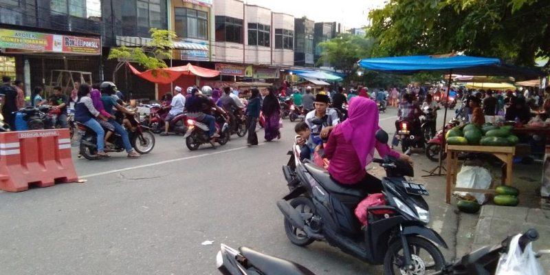 Puasa Pertama Bulan Ramadan, Pabukoan Kampar Sepi Pembeli
