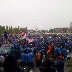 Mahasiswa Demonstrasi Tolak Kenaikan Iuran BPJS