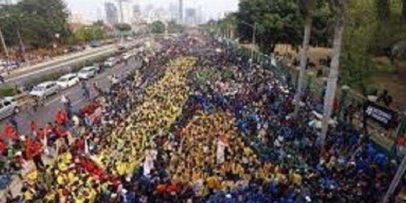 Demonstrasi Lanjutan di DPR RI, Waspada #G30sISIS Jadi Trending Topik di Twitter