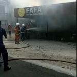 BREAKING NEWS: Toko Roti Fafa Chesse Terbakar