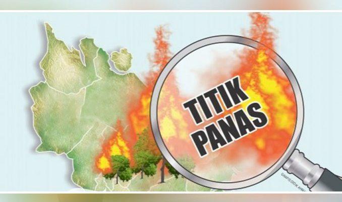 Meski Diguyur Hujan 4 Hotspot Muncul di Riau Hari Ini