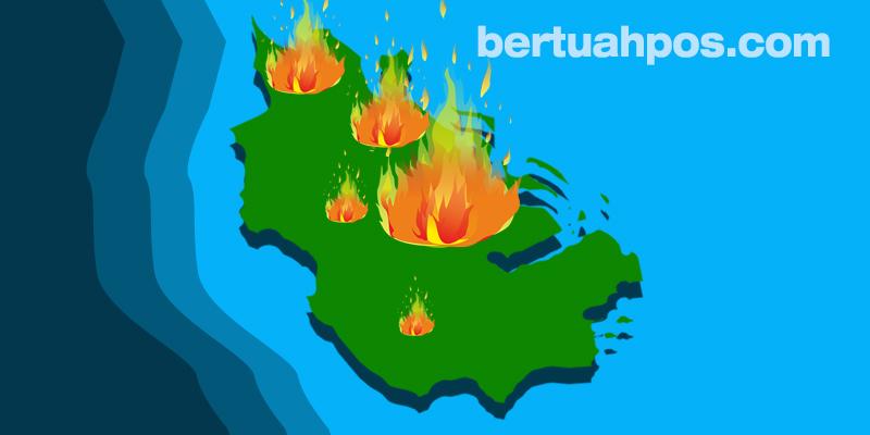 Riau Dikepung 15 Hotspot, Terbanyak di Pelalawan