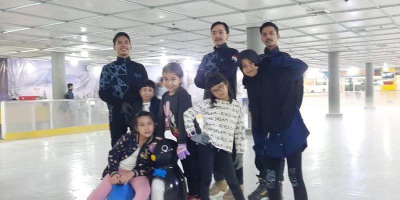 Ice Skating, Olahraga Musim Dingin Hadir di Mall Ska Pekanbaru