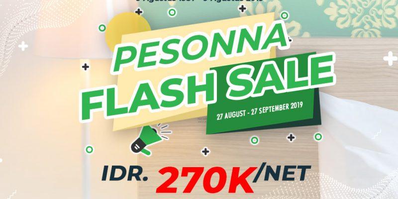 Sekarang Saatnya Menginap di Pesonna Hotel Pekanbaru, Hanya Rp270,000,-/nett