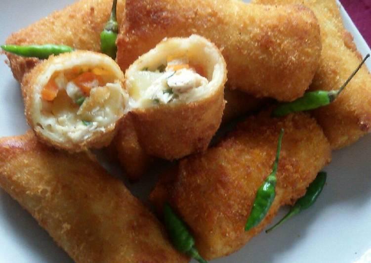 Risol Rogut Ayam Resep Indonesia CaraBiasa.com