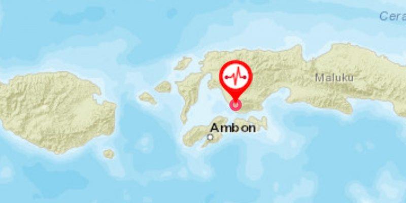 Gempa 6,8 SR Guncang Ambon Pagi Ini, Tak Berpotensi Tsunami