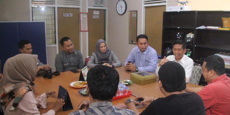 Silaturahmi, Pesonna Hotel Pekanbaru Sambangi Kantor Bertuahpos