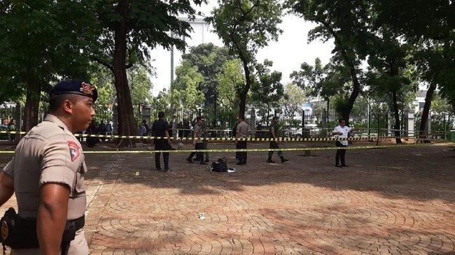 Ledakan Monas Granat Asap, Polisi: Bukan Teror