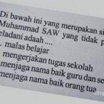 Di Solok, Beredar Soal Ujian yang Diduga Hina Nabi Muhammad