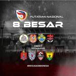 Jadwal 8 Besar Liga 3 Indonesia, Riau Tersisa 1 Tim
