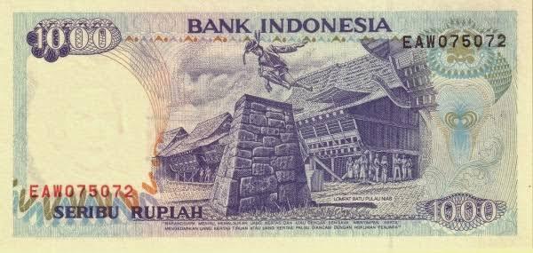 Catatan Sejarah 28 Desember: Uang Rp1000 Bergambarkan Lompat Batu Resmi Diedarkan BI