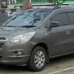 Harga Mobil Chevrolet Spin LTZ Bekas Tahun 2014