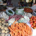 Sidak Pasar, Camat Bagan Sinembah Ingatkan Warga Tetap Pakai Masker
