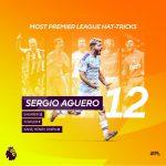 Man City Bantai Aston Villa 1-6, Aguero Pecahkan Dua Rekor Liga Inggris