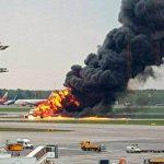 Pesawat Ini Terbakar Sesaat Setelah Lepas Landas