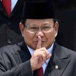 Elektabilitas Prabowo Melejit untuk Capres 2024