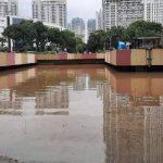 Tenggelam Hingga 2,5 Meter, Begini Penampakan Underpass Kemayoran Akibat Banjir
