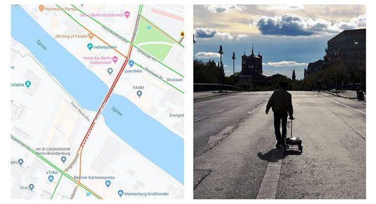 Menipu Google Maps