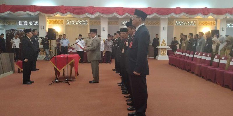 Gubernur Riau Lantik 12 Kepala Dinas Baru, Berikut Ini Daftar Namanya