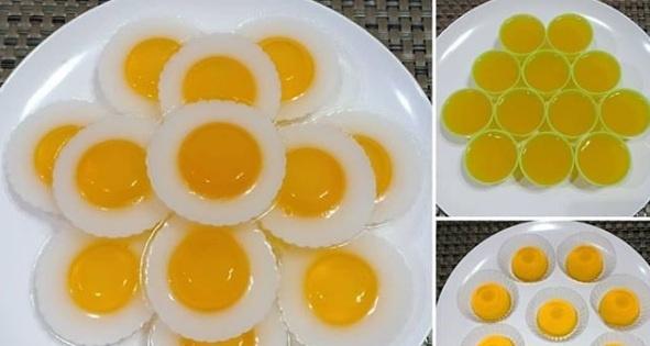 Puding Telur Ceplok Ini Lezat dan Bergizi untuk Anak, Berikut Resepnya Bun!