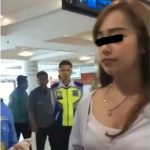 Viral! Dilabrak Istri Sah di Bandara, Pelakor Cantik Ini Tetap Santuy
