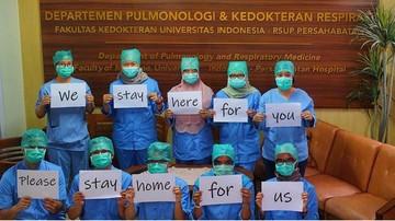 Kurang Dari Sebulan, Positif Corona di Indonesia Tembus 1.000 Kasus, IDI Sebut APD untuk Medis Masih Sangat Minim