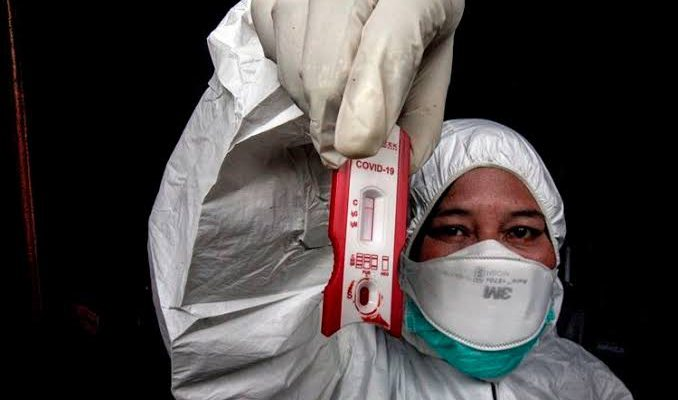 6.000 Rapid Test Diprioritaskan untuk Tenaga Medis dan 5.000 Lebih ODP di Riau