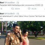 Pasca Sebut Menteri Luhut Lebih Bahaya dari Corona, Nama Faisal Basri Trending Topik Twitter