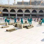 Kerahkan 3.500 Pekerja, Masjidil Haram Dibersihkan 6 Kali Sehari