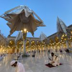 Salat Subuh Pertama Masjid Nabawi, Jemaah Jaga Jarak