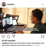 Sandiaga Uno Sebut Lulusan LP3I Tidak Kalah dengan Lulusan Universitas
