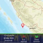 Gempa 4,3 SR Guncang Bengkulu Pagi Ini