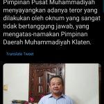Warga Muhammadiyah Diminta Tak Terprovokasi Peristiwa Peneroran Diskusi Mahasiswa UGM