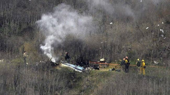 Hasil Otopsi, Tubuh Pilot Helikopter Naas Kobe Bryant Tak Ditemukan Alkohol
