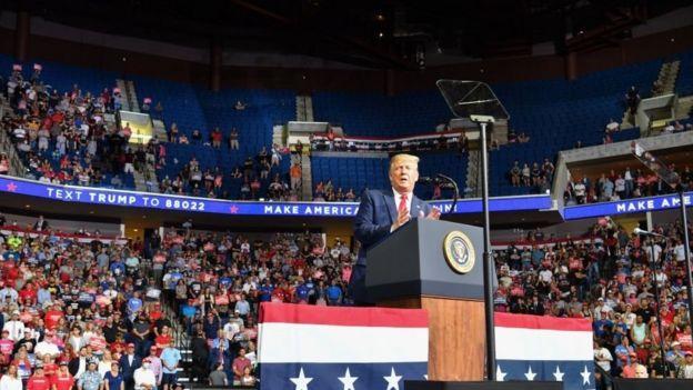 """Kampanye Donald Trump Dibuat """"Berantakan"""""""