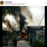 Pesawat TNI AU Jatuh di Kubang Viral di Instagram, Netizen : Aku Nengok Pas Meras Baju